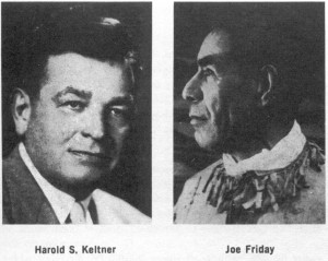 Harold Keltner and Joe Friday